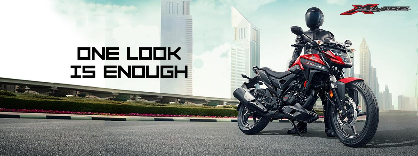 Honda XBlade Landing Page Banner Image