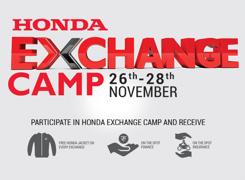Honda Exchange Camp