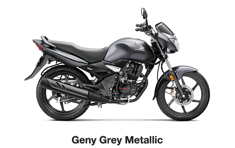 Geny Gray Metallic CB Unicorn 150