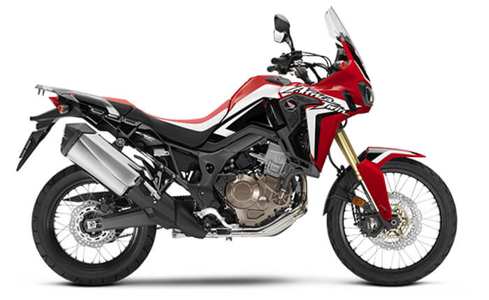 CRF Rally Red CRF Africa Twin