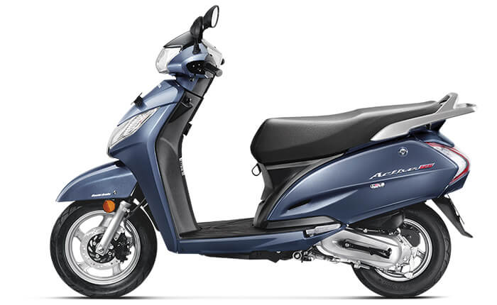 Midnight Blue Metallic Activa 125