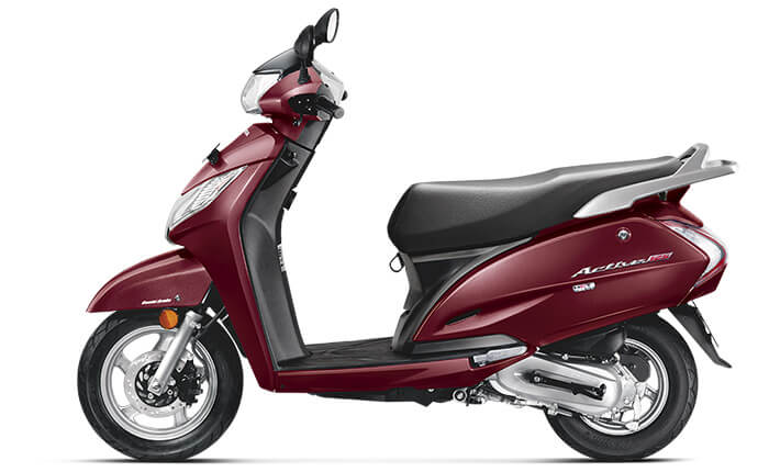 Rebel Red Metallic Activa 125