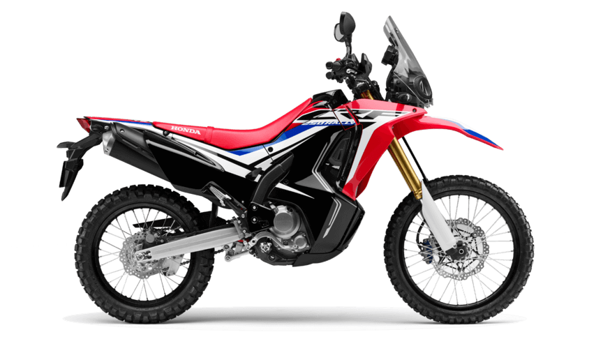 Extreme Red CRF 250L Rally