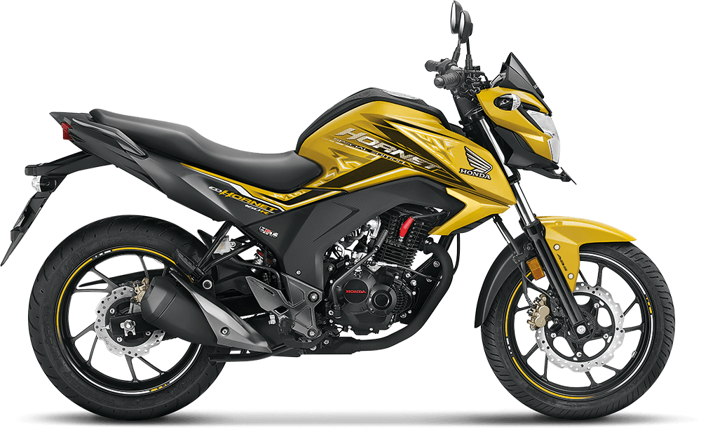 Dazzle Yellow Metallic CB Hornet 160R New
